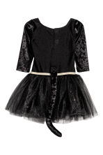 Dance dress with Alice band - Black/Cat  - Kids | H&M 3