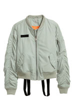 Bomber jacket with braces - Dusky green - Ladies | H&M 2