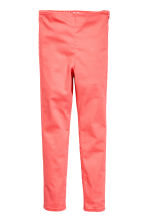 Stretch trousers - Coral pink - Kids | H&M 2