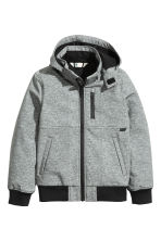 Softshell jacket - Grey marl - Kids | H&M CN 2