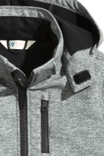 Softshell jacket - Grey marl - Kids | H&M CN 3