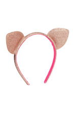 Glittery Alice band - Pink/Gold - Kids | H&M CN 1