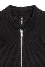 Cardigan a coste - Nero - DONNA | H&M IT 3