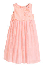 Tulle dress with sequins - Light pink - Kids | H&M CN 2