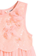 Tulle dress with sequins - Light pink -  | H&M 3