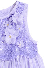 Tulle dress with sequins - Purple - Kids | H&M 3