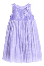 Tulle dress with sequins - Purple - Kids | H&M 2