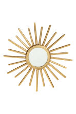 Miroir rond - Doré - Home All | H&M FR 2