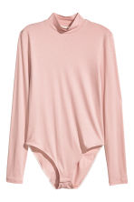 Turtleneck body - Powder pink - Ladies | H&M CN 2