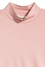 Turtleneck body - Powder pink - Ladies | H&M CN 3