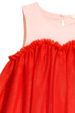 Tulle dress - Red/Pink - Kids | H&M 3