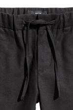 Lyocell-blend pull-on trousers - Black - Kids | H&M 3