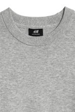 Cashmere-blend jumper - Grey marl - Men | H&M 2