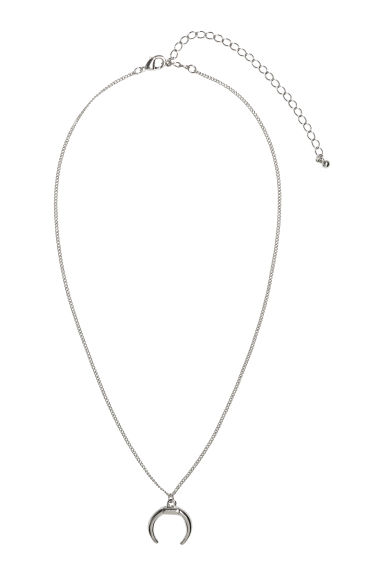 Collana con pendente - Argentato - DONNA | H&M IT 1