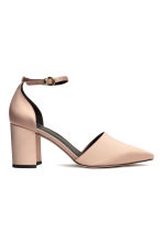 Open-sided court shoes - Light beige -  | H&M CN 2