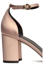 Open-sided court shoes - Light beige -  | H&M CN 5