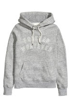 Hooded top - Grey marl - Ladies | H&M CN 2