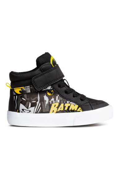 Hi-top trainers - Black/Batman - Kids | H&M CN 1