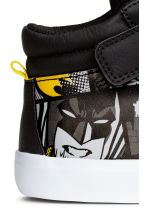 Hi-top trainers - Black/Batman - Kids | H&M 4