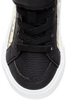 Hi-top trainers - Black/Batman - Kids | H&M CN 3