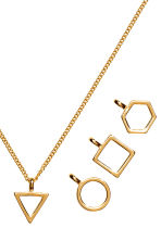 Necklace with pendants - Gold - Ladies | H&M 2