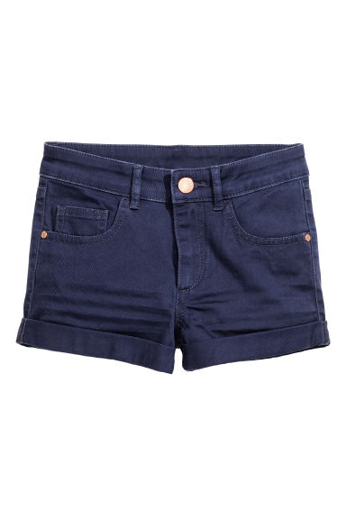 Shorts in twill - Blu scuro - BAMBINO | H&M IT 1