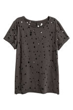 Trashed T-shirt - Black - Ladies | H&M CN 2