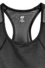 H&M+ Sports bra Medium support - Black - Ladies | H&M 3