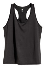 H&M+ Sports vest top - Black - Ladies | H&M CN 2