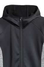 H&M+ Outdoor fleece jacket - Black/Grey marl - Ladies | H&M 2