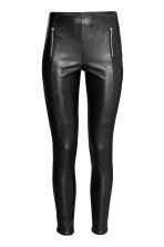Leggings with zips - Black - Ladies | H&M 2
