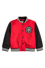 Baseball jacket - Red - Kids | H&M CN 2