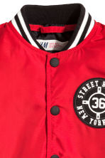 Baseball jacket - Red - Kids | H&M CN 3
