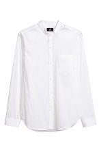 Grandad shirt - White - Men | H&M CN 2