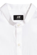 Grandad shirt - White - Men | H&M CN 3