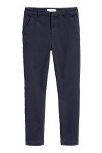 Skinny Chinos - Blu scuro - DONNA | H&M IT 2