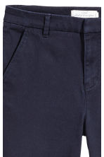 Skinny chinos - Dark blue - Ladies | H&M 3