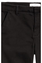 Skinny chinos - Black - Ladies | H&M 3