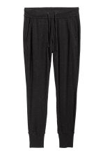 Jersey joggers - Black marl - Ladies | H&M 2