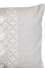 Patterned cushion cover - Grey/Light grey - Home All | H&M CN 2