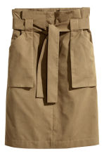 Cargo skirt - Khaki - Ladies | H&M 2