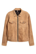 Suede jacket - Camel - Men | H&M 2