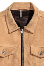 Suede jacket - Camel - Men | H&M 4