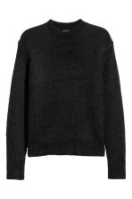Mohair-blend jumper - Black - Men | H&M CN 2