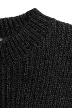 Mohair-blend jumper - Black - Men | H&M 3