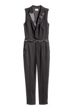Sleeveless jumpsuit - Black - Ladies | H&M 2