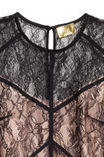 Body in pizzo - Nero/cipria - DONNA | H&M IT 3