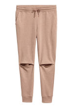 Cut-out joggers - Beige - Ladies | H&M CN 2