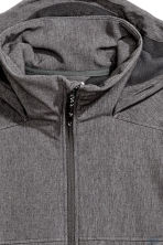 Softshell jacket - Dark grey marl - Men | H&M CN 3