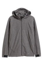 Softshell jacket - Dark grey marl - Men | H&M CN 2